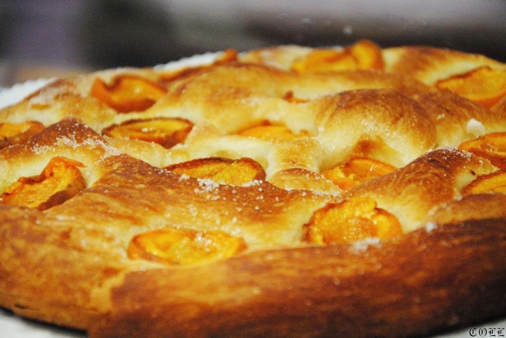 Ensaimada con albaricoques · Horno de Pan y pastelería Ca Sa Camena (Casa fundada en el año 1912)